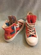 Converse X Damien Hirst All Star Us 6 Uk 6 Eu 39 Butterfly Limited Edition Red
