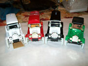Ertl Four Different Dubuque Golf And Country Club Diecast Banks The Whole Set Mib