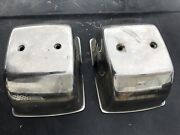 2 Morse Marine Helm Dual Twin Control Levers Shifter Throttle Cover Stainless
