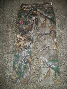 Under Armour New Nwt Womens Fitted Pants Camo Camouflage Pink Real Tree 6 12 14