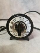 Vintage, Mark Time 60 Minutes Portable Time Switch Photographic Dark Room Timer