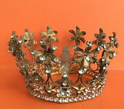 Antique Holy Crown Stones, Santo French Beautiful