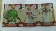 Germany Neur-muller-ozil World Cup Panini Prizm Soccer Cards 3 Cards