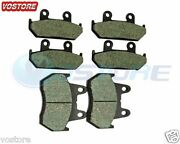 F+r Brake Pads Fits Honda Gl1500se Goldwing 1500 Special Edtion 1988-2000 1989