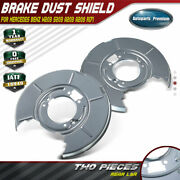 2pcs Brake Dust Shields For Bmw E36 E46 318i 323i 325i 328i Z4 Rear Left And Right