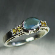 0.95ct Natural Alexandrite Colour Change 925 Silver 9ct 14k 18k Gold Ring