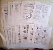 Lionel Pw 1953-58 No. 497 Coaling Station With 3459/69 Dump Car Service Manual