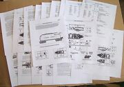 Lionel Pw 1946-53 2466wx671w2020-6020w Whistling Tender Service Manual