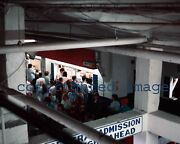Old Comiskey Park 1990 Looking Down On 3rd Base Side At Concessions Color 8x10 W