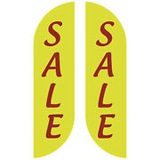 Sale Outdoor Outdoor Business Feather Flag Sign Kit Banner Advertising- No China