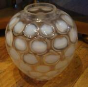 2500 Rare Magnificent Large Murano Italy Milky Glass Vase Sutton Place Nyc