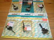 Lot Of 6 Marineworks Toggle Switch Two Position Off/on 20 Amp 12 Volt Tg21130