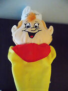 12 Plush Snap Crackle Pop Kelloggs Cereal Snap Hand Puppet Guc