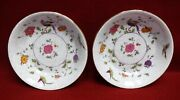 Crown Staffordshire China Bird Of Paradise Set Of 2 Coupe Soup Salad Bowl 7-1/2