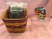 Longaberger 1998 Fathers Day Basket W/ Liner And Protector 12777