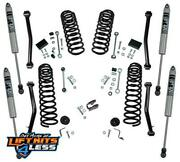 Superlift K184f 4 Dual Rate Coil Lift Kit W/fox Shock For 2018-20 Jeep Wrangler