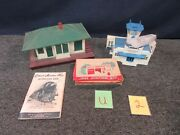 Gilbert American Flyer Plasticville Train 3/16 S O Scale Gas Station Building