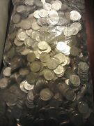 2,000 Us. Half Dollar Coin Lot Unsearched For Silver Or Errors+10 Silver Coins