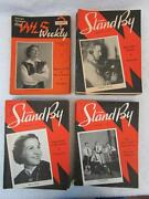 Lot Of 139 Wls Radio 870 Chicago Illinois Stand By Weekly Magazines 1935-1938