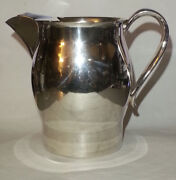 F.b. Rogers Silver Company 1883 Trade Mark Silverplated On Cooper Jug