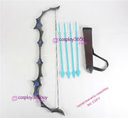 League Of Legends Ashe' Bow And Arrow Prop Cosplay Prop Pvc Made
