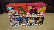 Atgames Flashback Blast Pong Centipede Pittfall Space Invaders Lot Of 4 New