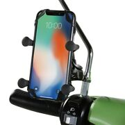 Prima Cell Phone Holder For Mirror And Handlebar Mount