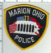 Marion Police Ohio 3rd Issue Shoulder Patch