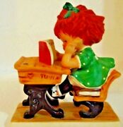 Young Mans Fancy Redhead Collectible Goebel