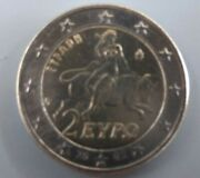 Greece 2 Euros 2002 - Europa Abducted By Zeus S - Suomi