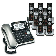 Atandt Cl84702 Corded/cordless Phone System W / High Definition Audio Technology