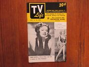 July-1952 Rochester Tv Life Magazineandy Devine/irene Dunn/cbs Television City