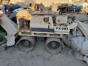 I-r Trench Compactor- Fx130- W/ Diesel Engine- For Parts