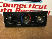 2002 Nissan Frontier Climate Control Unit Not Working Parts Only N-7