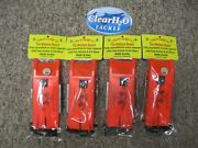 4pk Church Tackle Walleye Board Right And Left Assembled With Flag And E-z Store