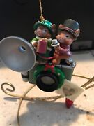 Traditions/non Enesco Christmas Ornament Mouse Couple Old Fashioned Camera New