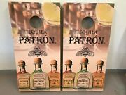 Patron Tequila Corn Hole Boards - Bean Bag Toss Game