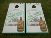 The Doctor Is In Dr. Mcgillicuddy's Corn Hole Boards - Bean Bag Toss Game