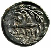 Thessaly Larissa Cremaste Ae14 Nymph And Harpa In Wreath Choice Ef Very Rare