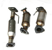 For 2009-2017 Chevy Gmc Buick Saturn 3.6l Catalytic Converter Fl+fl+rear Set