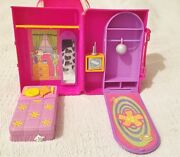 Polly Pocket Boat Disco And Bedroom/case