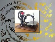 Restoration Decals For Antique Willcox And Gibbs Sewing Machine - Machine A Coudre