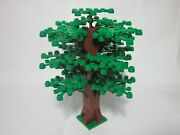 Custom Triple Forest Tree For Lego W/ 26 Green Leaves New Parts Free Us Ship