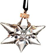 2000 Christmas Star / Snowflake, Mint, Ornament Only