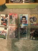 Football Trading Card Box Set Hall Of Fame Players Rookie Cards. Over 100 Total