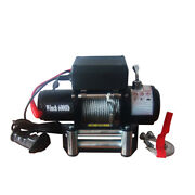 Vi 6000lb Pound Electric Recovery Winch Universal Dc 12v Volt Steel Cable Towing