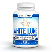 White Lung - Lung Cleanse And Detox.support Clear Lungs A Healthy Lungs Supplement
