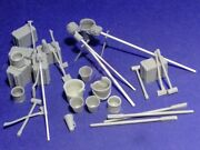 Resicast 1/35 Artillery Accessories And Equipment Set Wwi Gun / Howitzer 352375