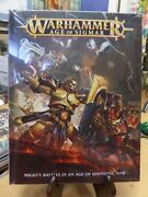 Warhammer Age Of Sigmar Mighty Battles In An Age Of Unending War New Hard Cover