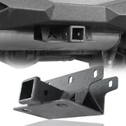 Textured 2and039and039 Towing Receiver Hitch Fit Jeep Wrangler Jl 2018-2021 And Unlimited